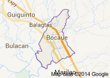 Bocaue Will Soon Become A City As The Worlds Largest DomeArena - Bocaue map